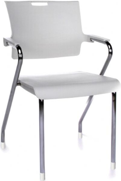 OFM 304-P-P02 Smart Series Stack Chair, 300 lbs. Weight capacity, 18.25