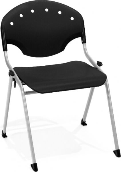 OFM 305-P0 Rico Stack Chair, 17.75