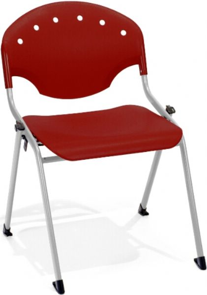 OFM 305-P17 Rico Stack Chair, 17.75