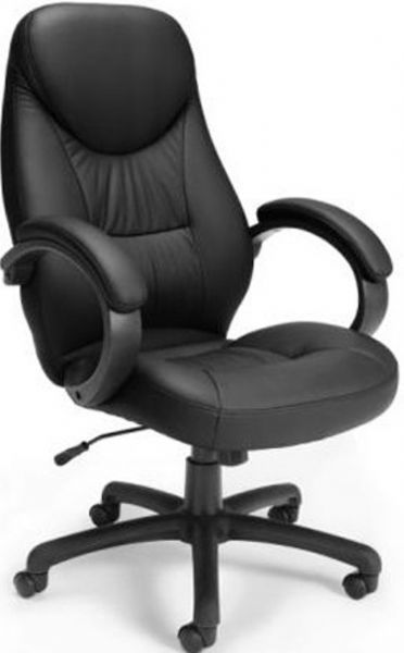 OFM 522-LX-T Ergonomic Leatherette Task Conference Chair, 28.25
