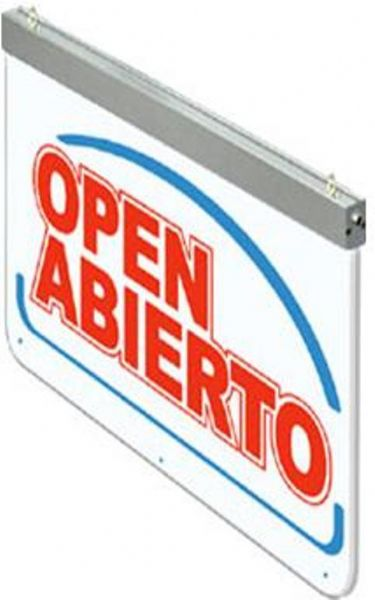 Actiontek Open 400 Led Open Abierto Sign Very Low Energy
