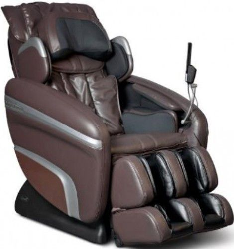 massage chair leather. osaki os-6000b deluxe zero gravity massage chair, brown/black, synthetic leather, designed with a set of s-track movable intelligent robot , special chair leather l