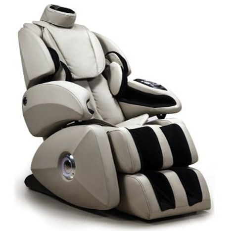 Osaki OS7000C Executive ZERO GRAVITY STrack Massage Chair Cream
