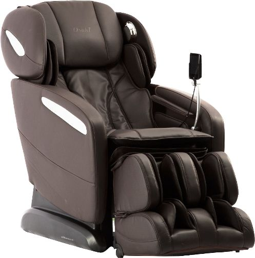 Osaki OS-Pro Maxim B Massage Chair, Brown, SL Track Roller Design, Computer Body Scan Technology, 2 Stage Zero Gravity Position, Touch Screen Controller, Bluetooth Connection for Speaker, 12 Unique Auto-programs, 6 Massage Styles, Dual Foot Roller System, Highly Efficent Airbag Massaging System, Heated Backrest and Seat Vibration Massage, UPC 857802006262 (OSMAXIMB OSMAXIM OS-MAXIM)