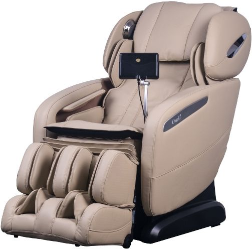 Osaki OS-Pro Maxim D Massage Chair, Ivory, SL Track Roller Design, Computer Body Scan Technology, 2 Stage Zero Gravity Position, Touch Screen Controller, Bluetooth Connection for Speaker, 12 Unique Auto-programs, 6 Massage Styles, Dual Foot Roller System, Highly Efficent Airbag Massaging System, Heated Backrest and Seat Vibration Massage, UPC 857802006279 (OSMAXIMD OSMAXIM OS-MAXIM)