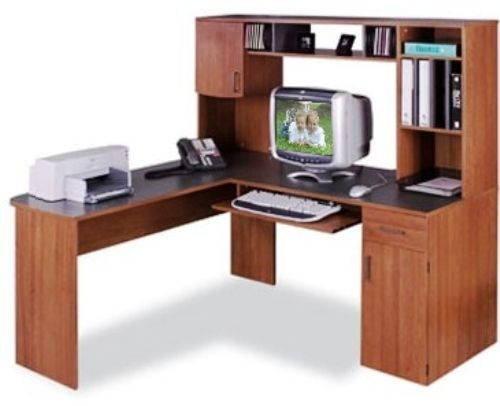 O Sullivan 10112 Workcenter L Soho Collection Finished In Canyon Oak And