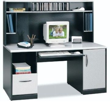 O 39 Sullivan 10911 Cdm Black Alumi Cast Computer Workcenter
