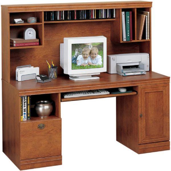 O Sullivan Computer Desk O Sullivan 10342 Quot L Quot Computer Workcenter Living Dimensions