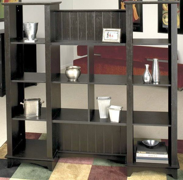 Ou0027Sullivan 20983; Room Divider, West Village HF Collection; Finished In A  Beautiful Warm Black Oak; ...
