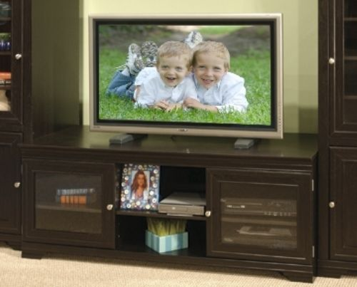 O Sullivan 21127 Tv Vcr Stand Manor Hill Collection Finished In New