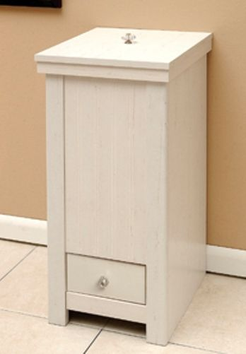 O39sullivan 30316 trash can woodbridge collection for O sullivan kitchen furniture