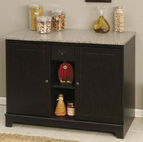 O39sullivan 30344 buffet litchfield collection finished for O sullivan kitchen furniture