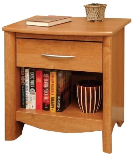 O 39 sullivan 37156 night stand transitions collection for Ready to assemble bedroom furniture