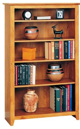 O Sullivan 40106 Five Shelf Bookcase French Garden Collection Osu40106 Osu