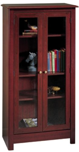 Sullivan 40208 Two Door Barrister Bookcase Cherrywood Estates