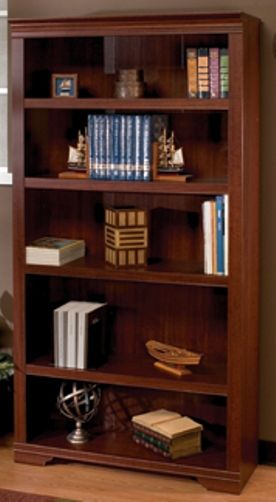 O Sullivan 41291 Bookcase Five Shelf Hampton Bay Collection Finished In Burnished Maple Laminates Osu41291 Osu