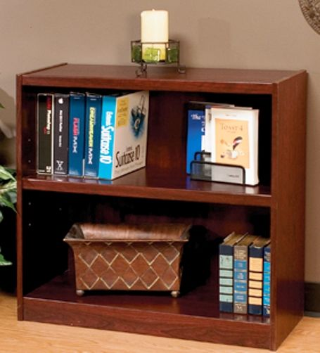 O 39 Sullivan 41480 Bookcase Two Shelf Atwood Collection