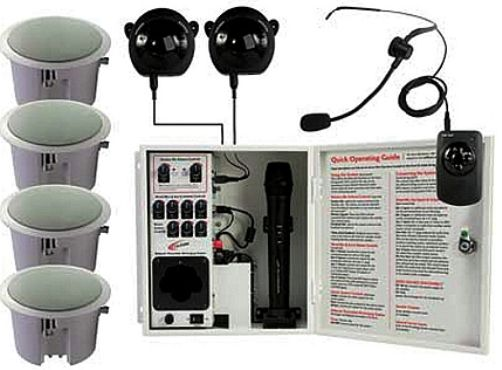 Califone Pairsysbcs Infrared Classroom Audio System With