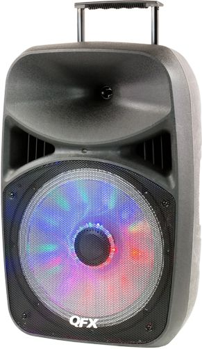 Moonlight Speakers qfx pbx-61156 battery powered bluetooth portable party speaker