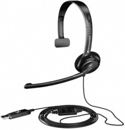 Sennheiser PC 26 USB Over-the-head Monaural USB Headset, Nominal