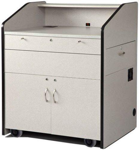 avf furniture. AVF Audio Visual Furniture International PD3002GM Multimedia Podium Gray Matrix Made With Grade Laminates Large 39 Avf
