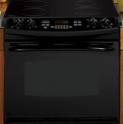 Ge General Electric Pd900dpbb Drop In Electric Range With