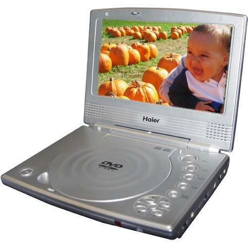 "Haier PDVD7 Portable DVD Player 7"" TFT with Rechargeable ..."