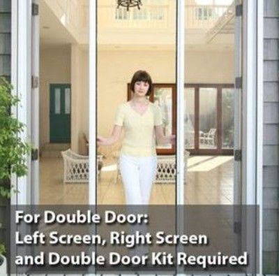 Phantom screens 68521 vista plus retractable screen double for Phantom screen door cost