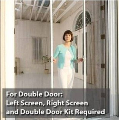 Phantom Screens 68625 Monarch Retractable Screen Double