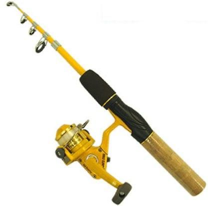 Eagle claw pk56ts telescoping fishing rod 4 ft 6 in Eagle claw fishing pole