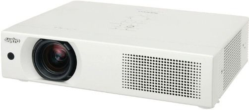 Sanyo PLC-XU106 Ultra Portable Multimedia LCD Projector, 4500 Lumens, Resolution XGA (1024 x 768), Contrast Ratio (Full on / off) 1000:1, Image Size 40