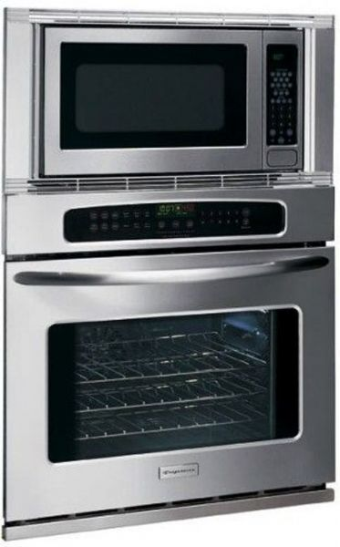 Frigidaire Pleb27m9ec Microwave Electric Oven Combination 27 Inch 1000 Watts 7 Digit 2 Color Lighted Lcd Stainless Steel 0 Cu