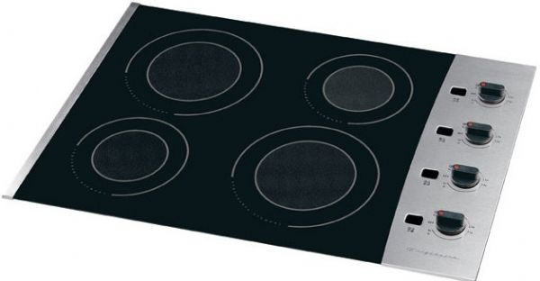 Frigidaire PLEC30S9EC Smoothtop Electric Cooktop With QuadMaxx Expandable  Elements U0026 Precision Set Side Mounted Surface