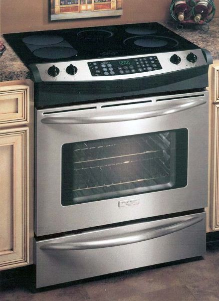 Frigidaire Ples389dc 30 Slide In Smoothtop Electric Cooking Range