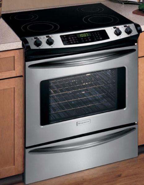 Frigidaire Ples389ec Slide In Electric Range 30 Inch Stainless Steel Control Panel Easyset 510 Electronic Oven