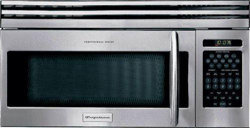 Frigidaire Plmv169dc Over The Range Microwave Oven 1 6 Cu Ft Turntable Stirrer Fan System Cooking Uniformity