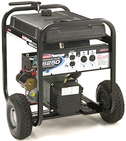 coleman powermate pm0545001 premium plus 5000w electric start rh salestores com Coleman Powermate 5000 Generator Carburetor coleman powermate 6250 generator briggs stratton manual