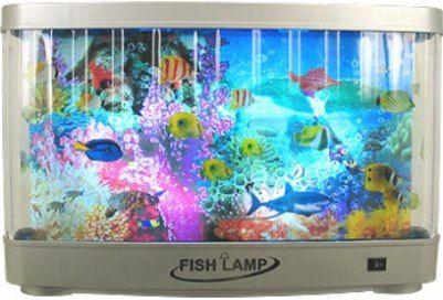 Premier 9066 revolving tropical fish lamp electric fish for Electric fish tank