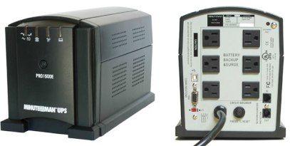 Minuteman PRO1500E Uninterruptible Power System 1500VA/1050W