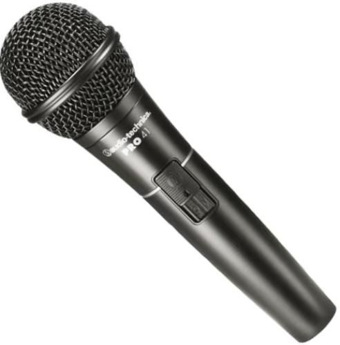 audio technica pro 41 cardioid dynamic handheld microphone frequency response 90 16000 hz open. Black Bedroom Furniture Sets. Home Design Ideas