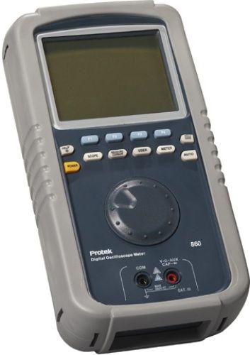 Pro Tek Oscilloscope : Protek f hand held dso dmm mhz oscilloscope with