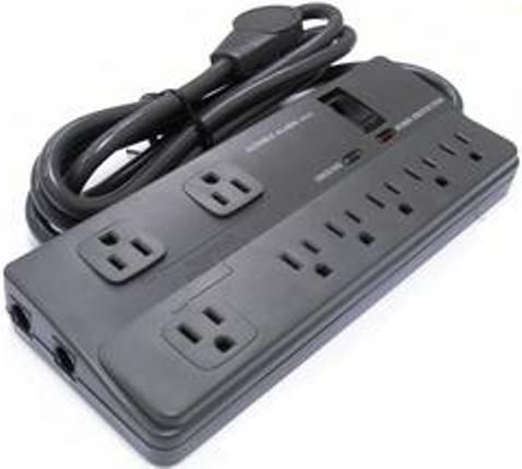 Multi outlet timer and power strip