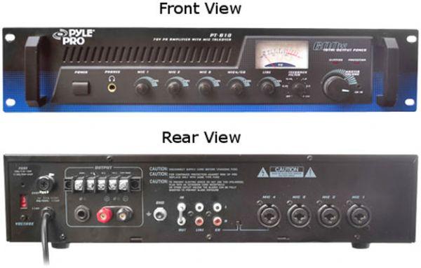 Pyle PT-610 100 Watt Amplified Mixer