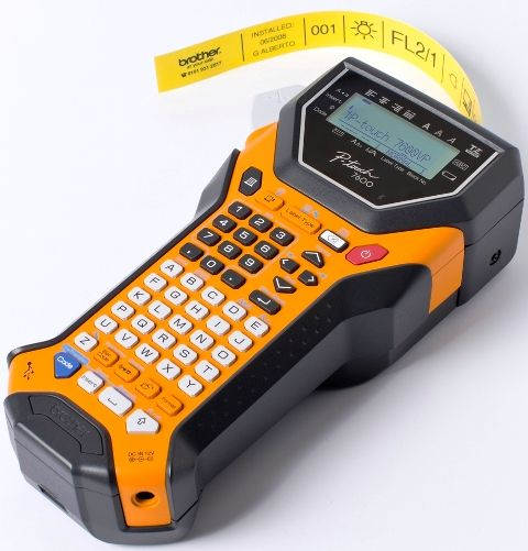 brother label printer templates - brother pt 7600 p touch rechargeable download ready
