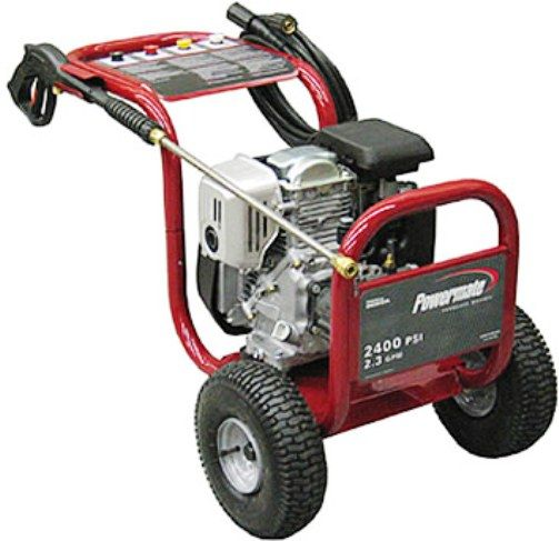 Coleman Powermate PW0872401 Powermate Series Residential Medium Duty Pressure  Washer, 2400 PSI, 2.0 GPM, Honda 5.0hp GC160 ...