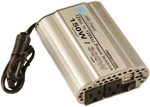 AIMS Power PWRINV150W 150 Watt Power Inverter 12 Volt, 150W ...