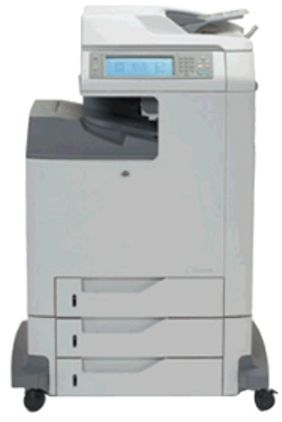 HP Hewlett Packard Q7518AR#ABA model Color LaserJet 4730x mfp-Multifunction color - laser - copying up to: 30 ppm mono/ 30 ppm color- printing up to: 30 ppm mono/ 30 ppm color - 1600 sheets - 33.6 Kbps - parallel, Hi-Speed USB, 10/100 Base-TX - Rmkt, 320 MB  of Memory, 40 GB Hard disk, Up to 600 x 600 dpi of Copy resolution (Q7518AR ABA Q7518ARABA 4730x mfp)
