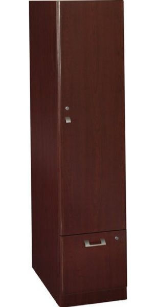 Bush QT288FCS Quantum Harvest Cherry Tall Storage Tower All melamine construction 1 Letter/legal sized file drawer that locks Lockable storage cabinet ...  sc 1 st  SaleStores.com & Bush QT288FCS Quantum Harvest Cherry Tall Storage Tower All ...