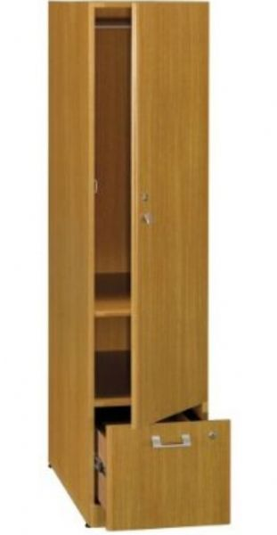 Bush Qt288fmc Quantum Modern Cherry Tall Storage Tower