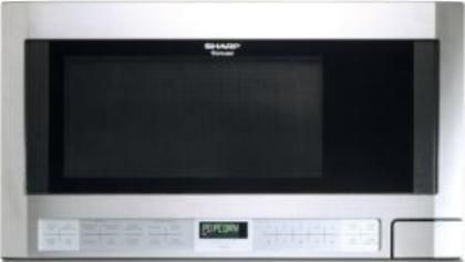 Sharp R1214 Counter Microwave Oven With 1 100 Cooking Watts Auto Touch Control Panel 5 Cu Ft Capacity 1100 Output 14 8 Carousel